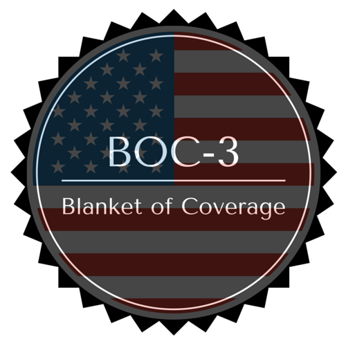 BOC-3 Blanket of Coverage