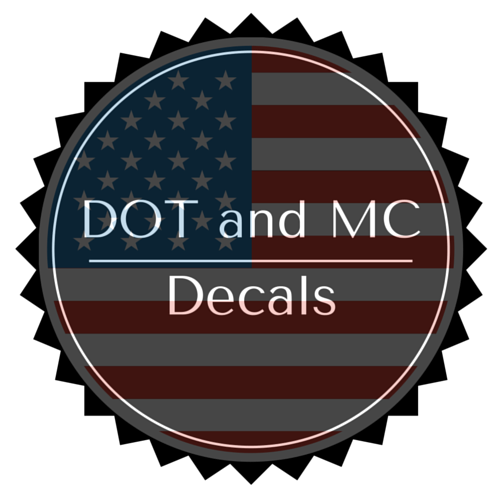 DOT and MC Decals