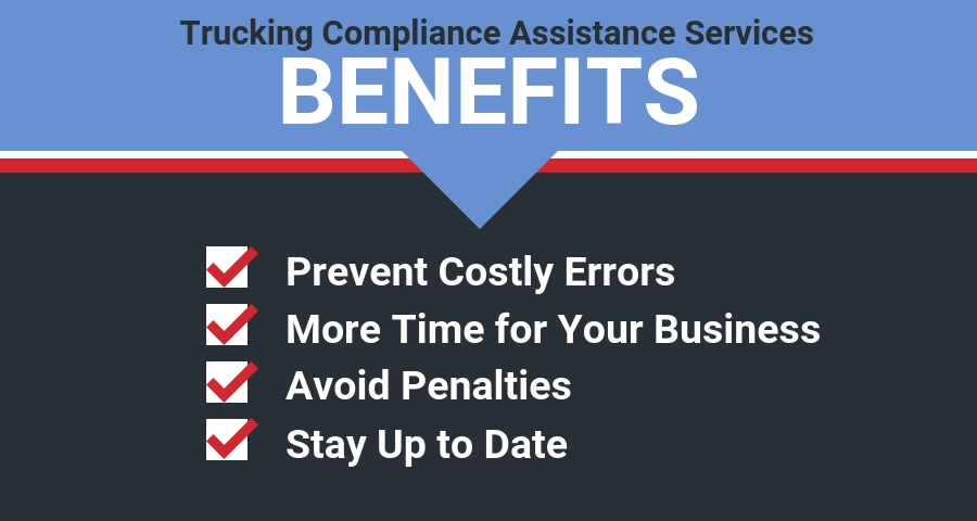 Benefits of Trucking Compliance Assistance