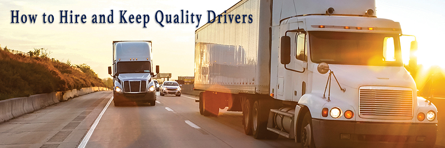 how to hire and keep quality drivers title image